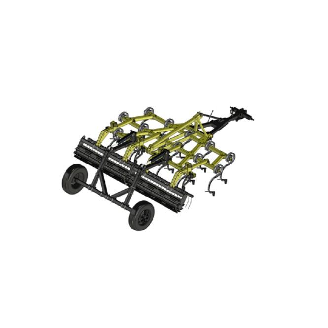 Trailed cultivator TelLus-3,3